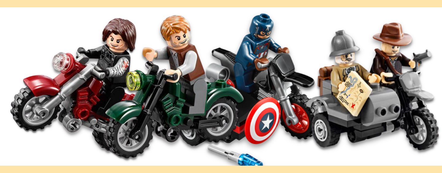 LEGO Motos - Adventure Bikes