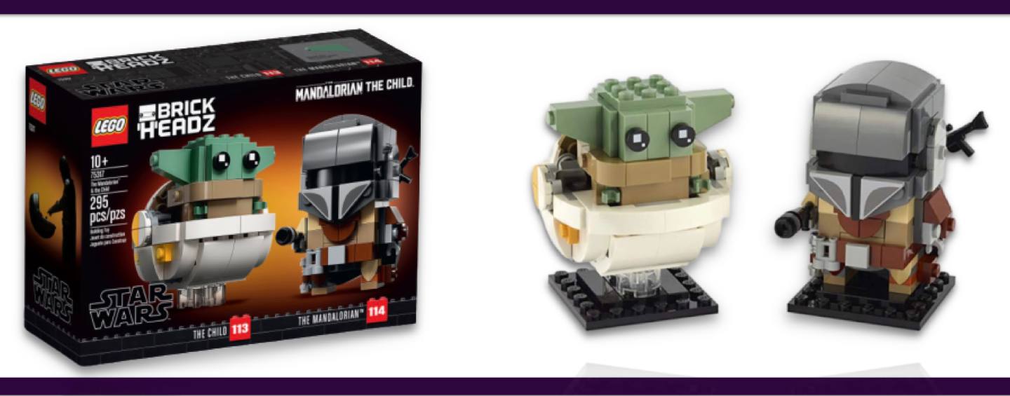 LEGO Star Wars Brickheadz The Mandalorian et The Child #75317