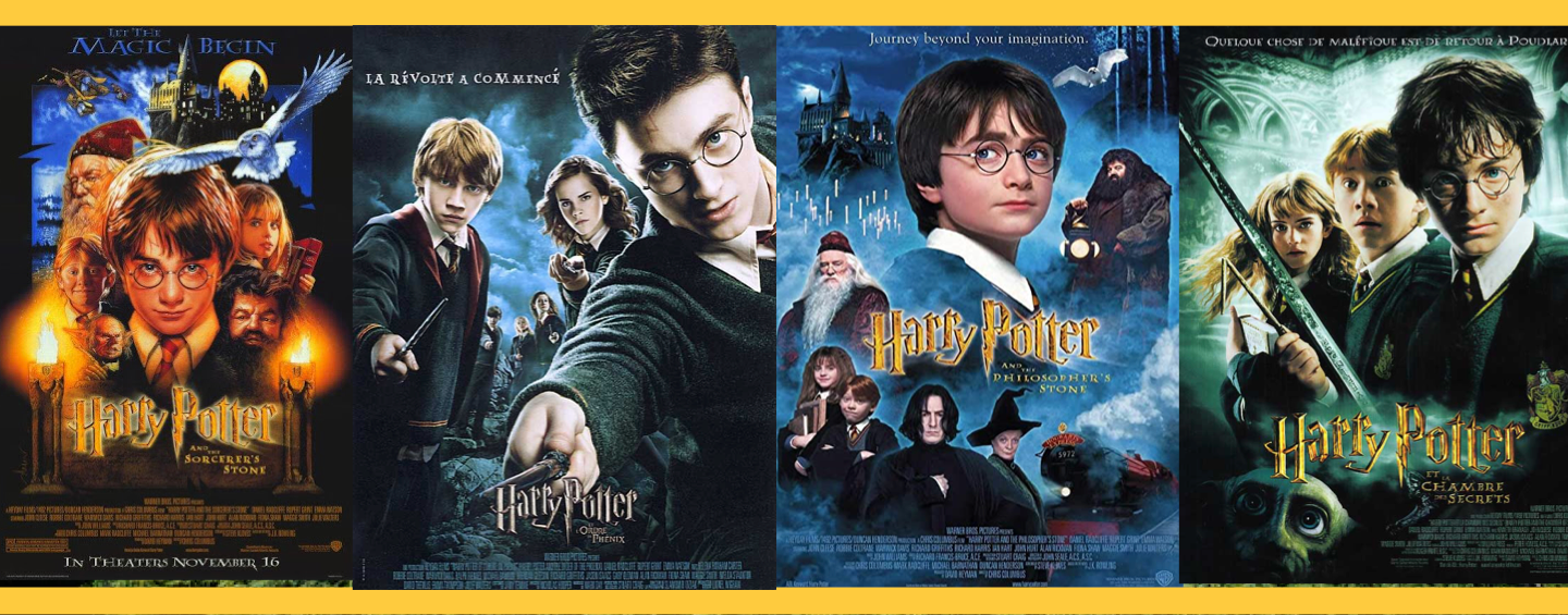 Affiches films Harry Potter