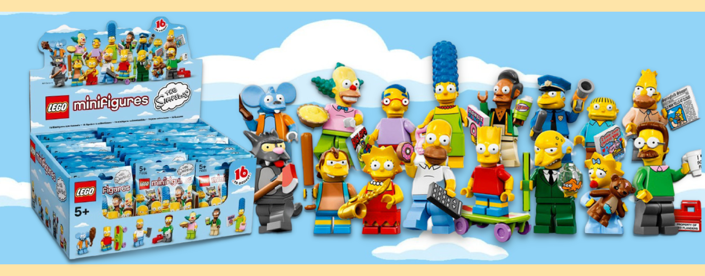 LEGO Simpson Figurines Series 1
