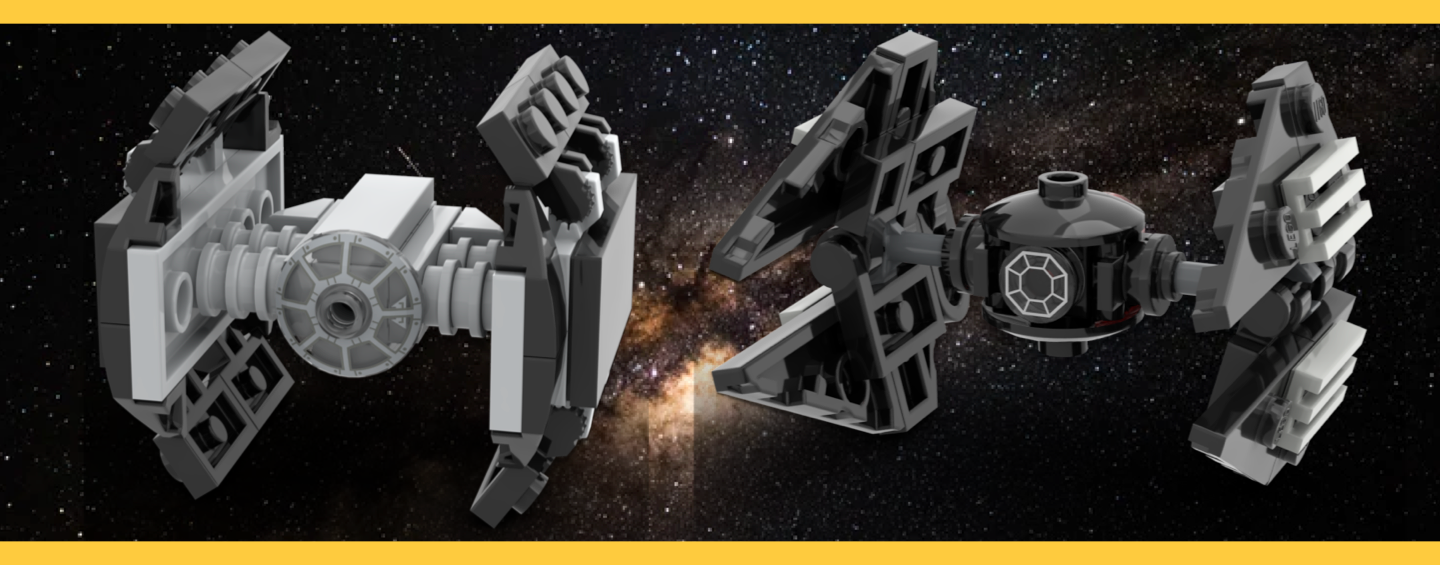 LEGO Micro TIE Fighter Instructions