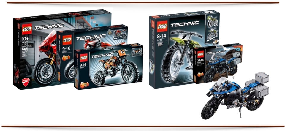 Lego Motos Technic Sets