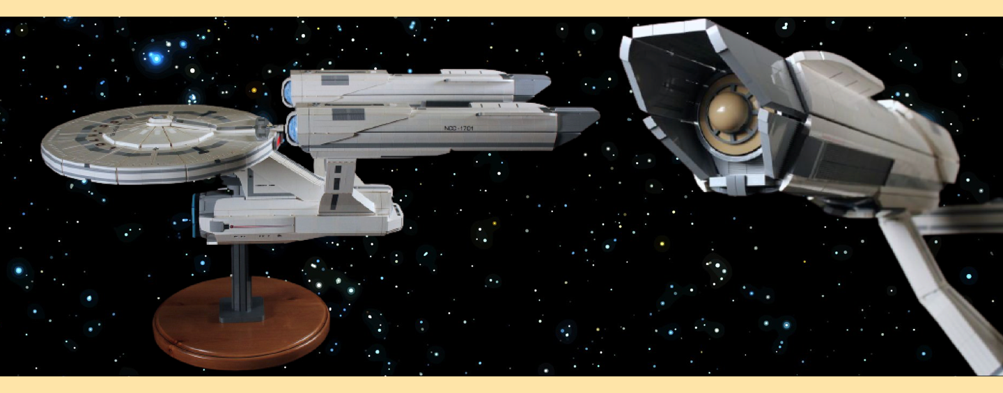 LEGO MOC Star Trek USS Enteprise par Chris Melby