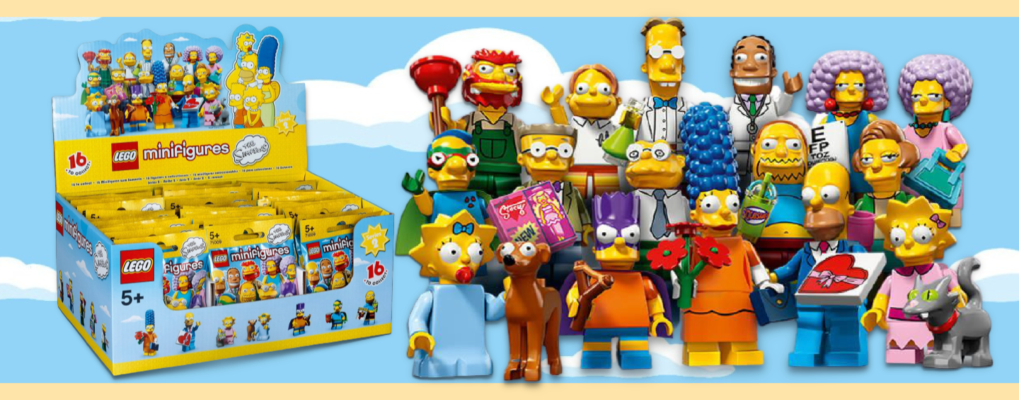 Figurines LEGO Simpson Series 2
