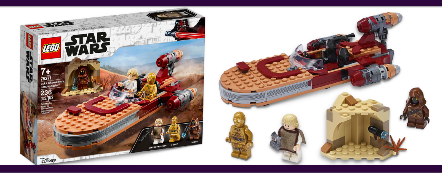 LEGO Star Wars #75271 Luke Skywalker's Landspeeder