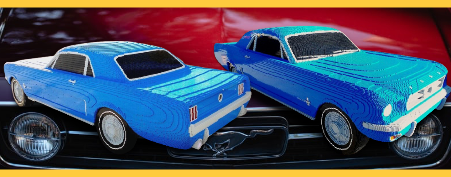 1967 Ford Mustang LEGO