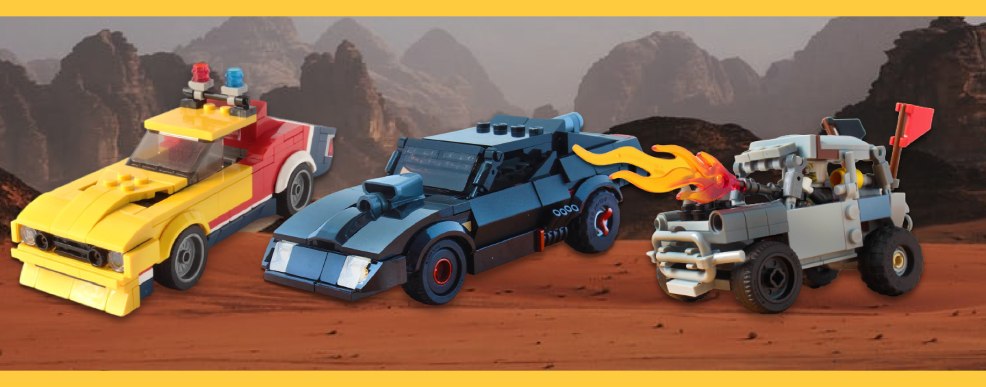 Mad Max Fury Road Voitures LEGO