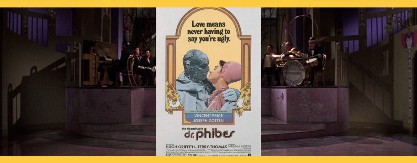 L'abominable Dr Phibes Affiche