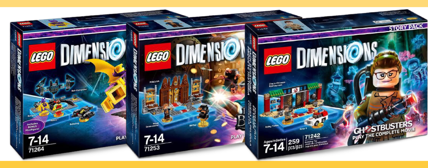 LEGO Dimensions Packs Histoire