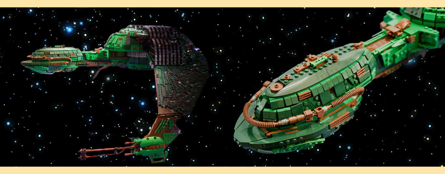 LEGO MOC Star Trek Klingon bird of prey par Kevin J Walter