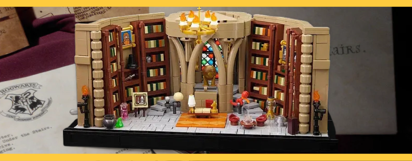 LEGO Harry Potter Bureau Dumbledore