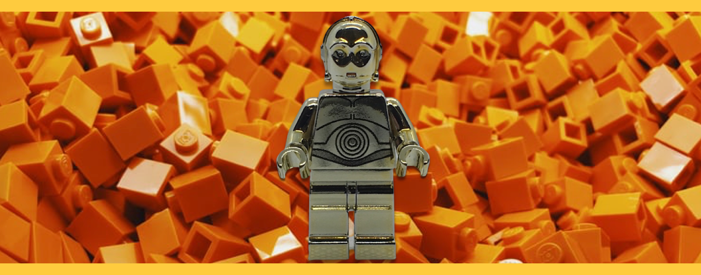 Gold C3PO Minifigure