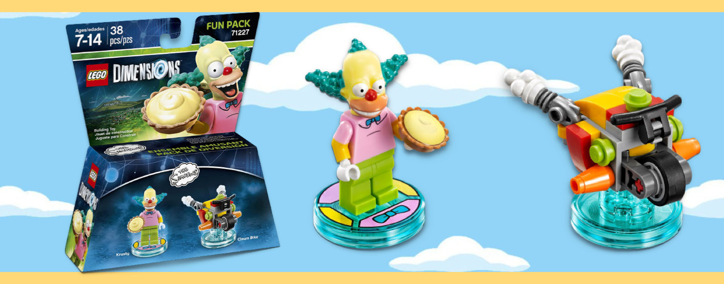 LEGO Dimensions Krusty the Clown
