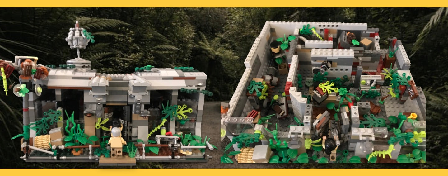 LEGO Jurassic Park Communications Center