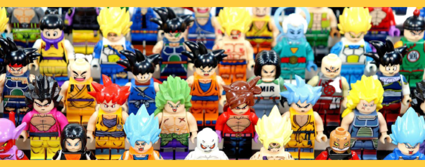 Figurines LEGO Dragon Ball Z
