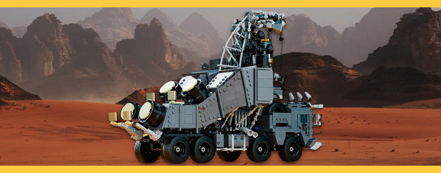 Camion Mad Max LEGO
