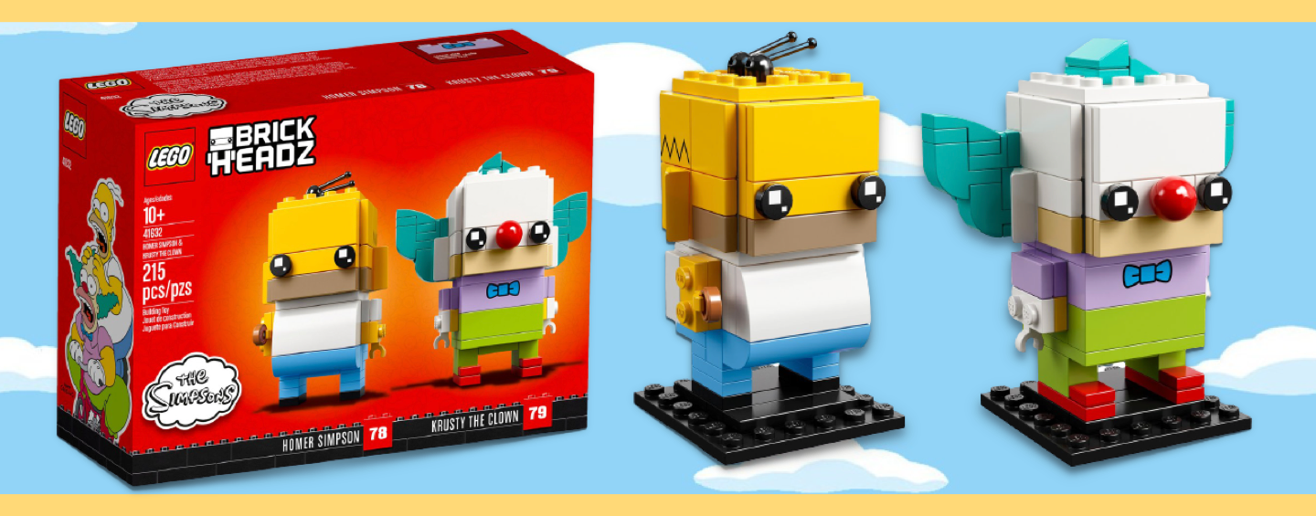LEGO Brickheadz Simpsons