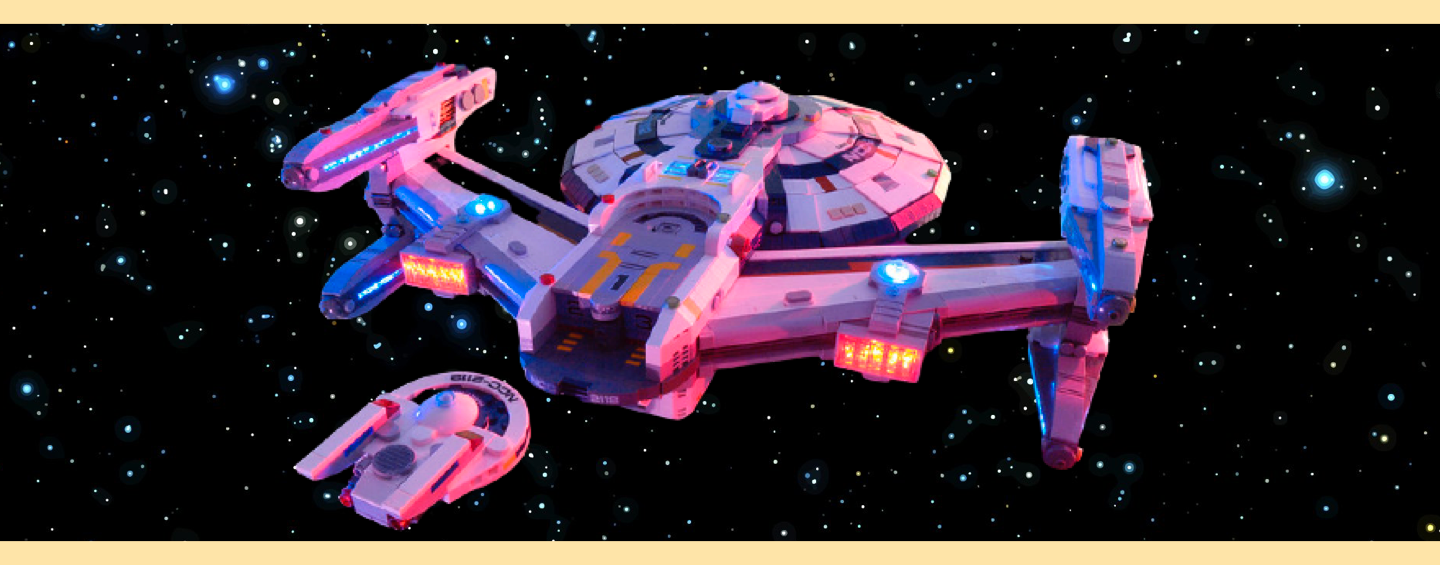 LEGO MOC Star Trek USS Jefferies par Ben Smith
