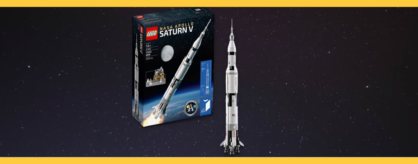 Saturn V LEGO Ideas