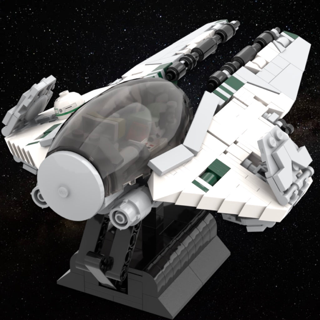 LEGO Jedi Interceptor Instructions