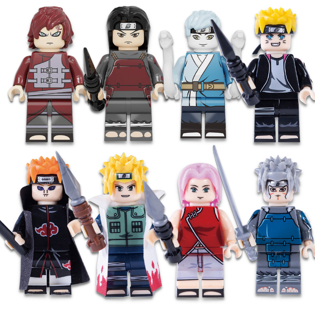 Pack Figurines LEGO Naruto