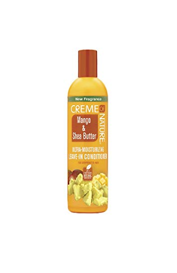 Creme of Nature Mango & Shea Butter Ultra-Moisturizing Leave-In Conditioner 12oz