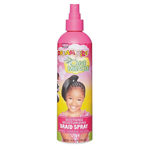 African Pride Dream Kids Miracle Soothing Moisturizing Braid Spray 12 Oz