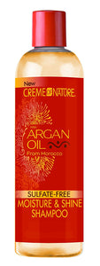 Creme of Nature Argan Oil Sulfate-Free Moisture & Shine Shampoo 12oz