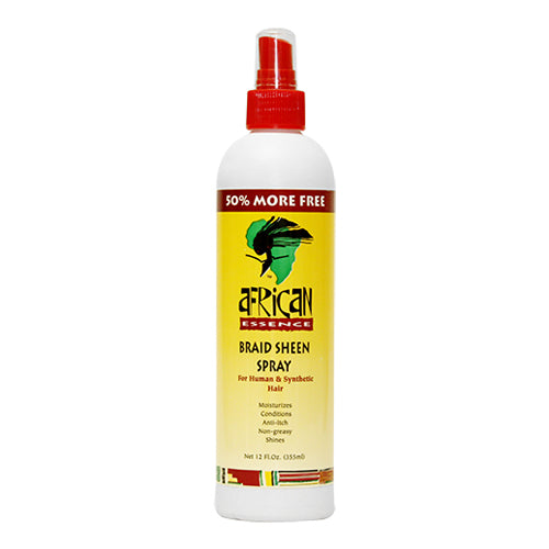 African Esssence Braid Sheen Spray 12oz