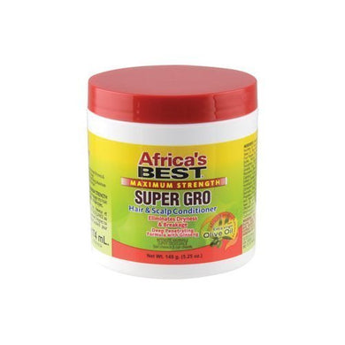 Africa's Best Maximum Strength Super Gro Hair & Scalp Conditioner