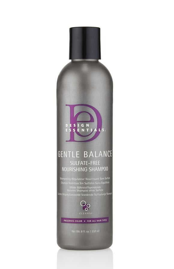 Design Essentials Gentle Balance Sulfate-Free Nourishing Shampoo 8oz