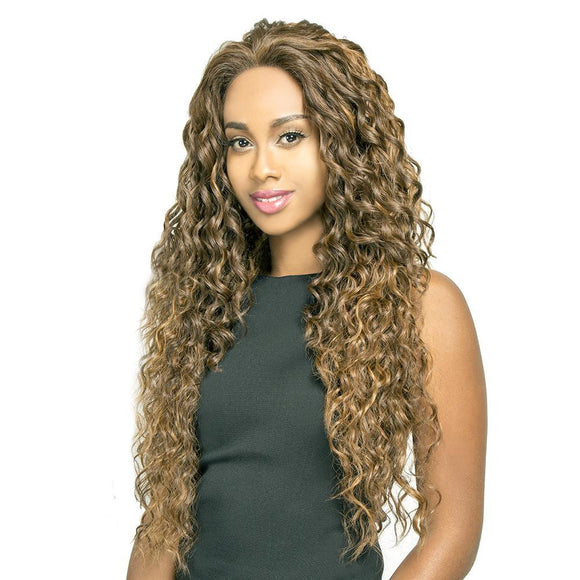 R&B Human Hair Blend Silk Lace RL-Sun Wig