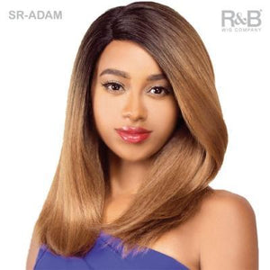 R&B Synthetic Swiss Silk Lace Front Wig SR-Adam