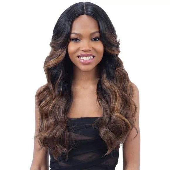 Mayde Beauty Synthetic Invisible Lace Part Wig Keisha