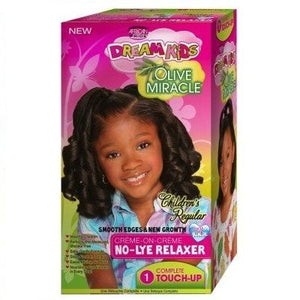 African Pride Dream Kids Olive Miracle Relaxer Touch-up Kit