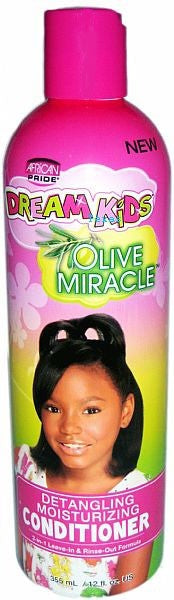 African Pride Dream Kids Miracle Detangling Moisturizing Conditioner 12 oz