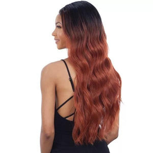Mayde Beauty Synthetic Invisible Lace Part Wig Emini