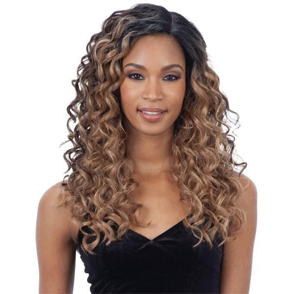 Mayde Beauty Synthetic Invisible Lace Part Wig Kennie
