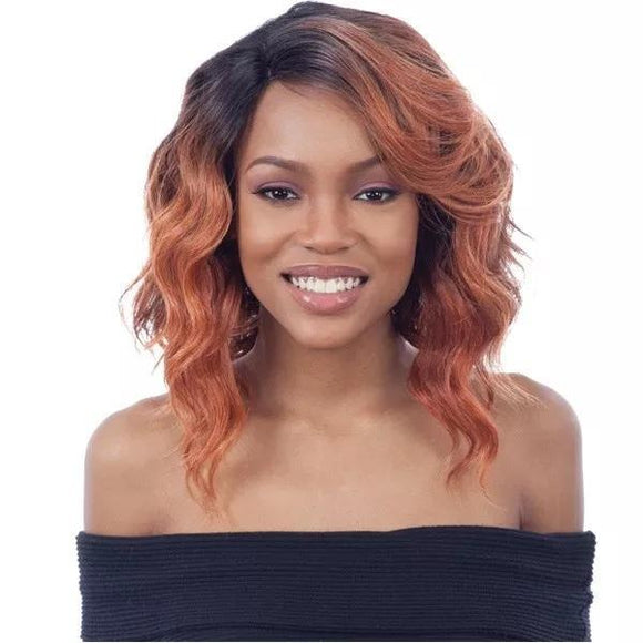 Mayde Beauty Synthetic Invisible Lace Part Wig Rubie