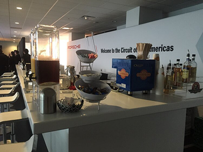 Cianfrani Coffee Roasters - F1 at Circuit of the Americas