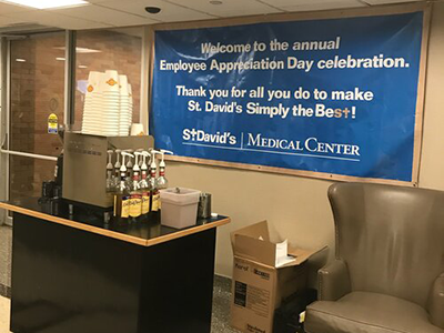 Cianfrani Coffee Roasters - Employee Appreciation Day at St. David Hospital