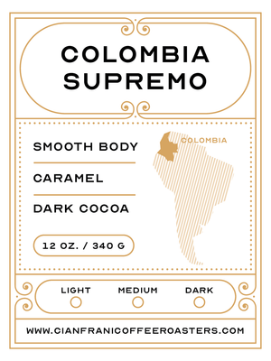 Colombia Supremo Pods (K-Cups)