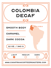 Colombia Supremo Decaf Pods (K-Cups)