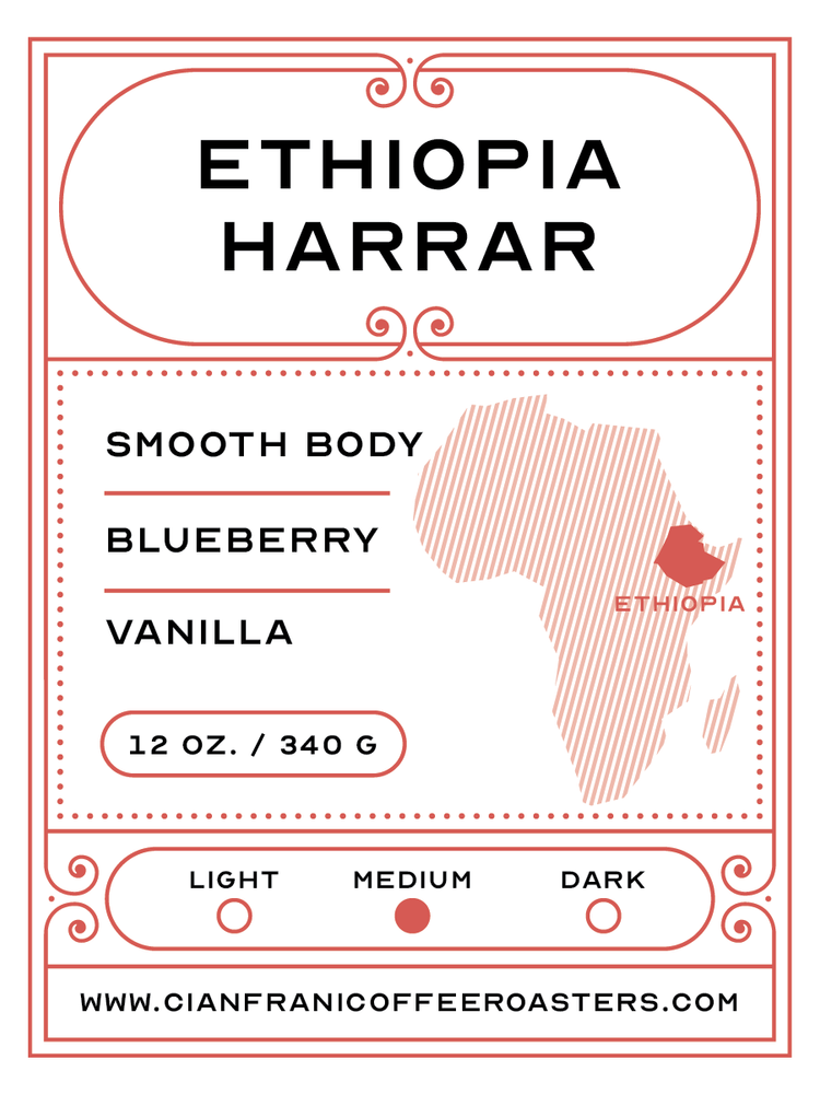 Ethiopia Harrar - Single Origin