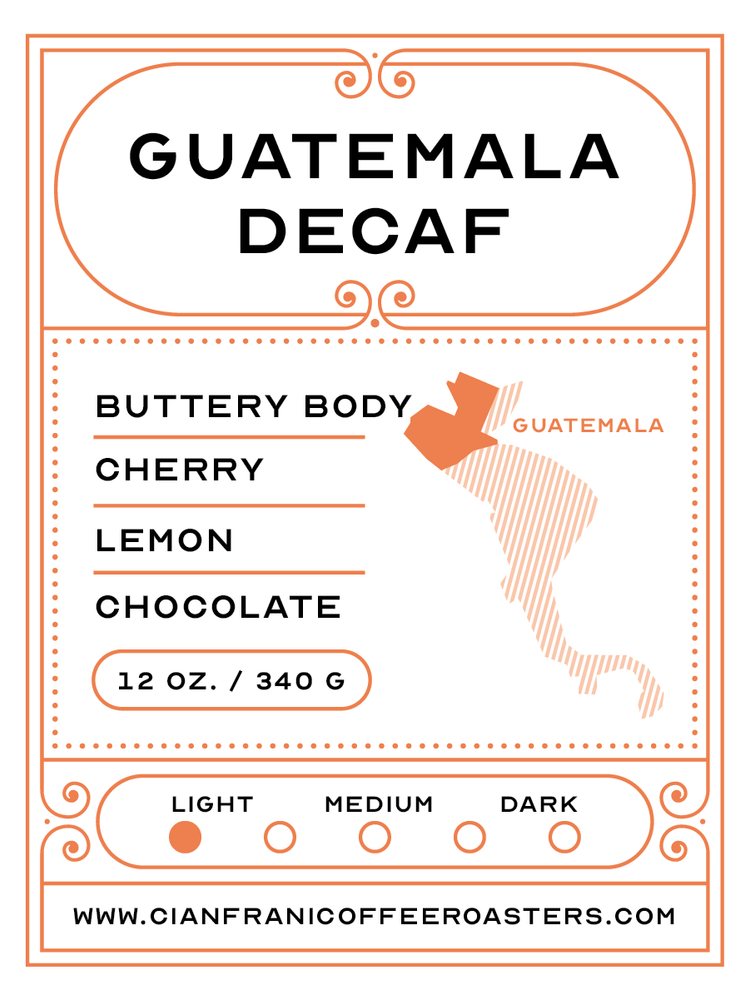 Guatemala - Single Origin Decaf Pods (K-Cups)