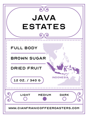Java Estates Pods (K-Cups)