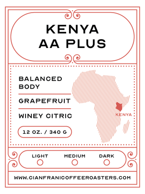 Kenya AA Plus - Single Origin Pods (K-Cups)