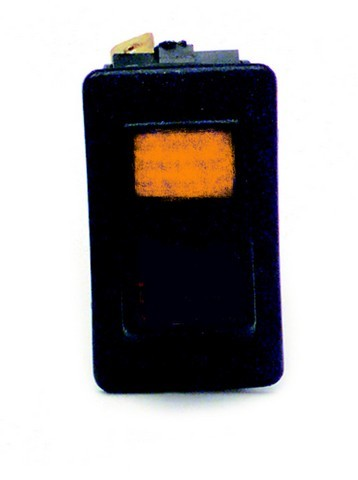 80404 Rocker Switch / On-Off / Amber Lighted