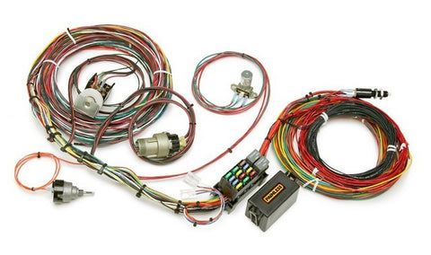 10118 21 Circuit F-Series Ford Truck Harness w/switches 1967 - 1977