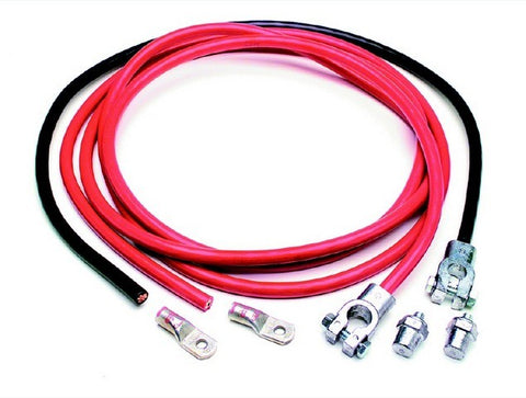 40100 Battery Cable Kit (16' Red & 3' Black Cables)